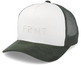 Truth Canvas Trucker Off White/Army Adjustable - Upfront