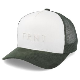 f6d1b78ec4f618 Upfront Truth Canvas Trucker Off White Army Adjustable - Upfront ₹ 2