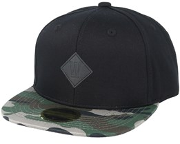 separation shoes e19cf 64e02 Kids West 2-tone Youth Black Pattern Snapback - State Of Wow