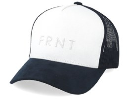 Truth Canvas Off White/Navy Trucker - Upfront