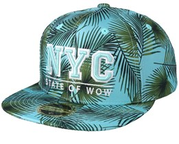 Kids Maui Pattern Snapback- State Of Wow
