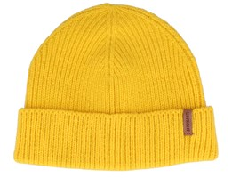 Compton Yellow Short Beanie - Upfront