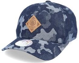 Off Street Baseball Cap Blue Camo Adjustable - Upfront