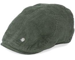Fellow Duckbill Army Green Flat Cap - Upfront