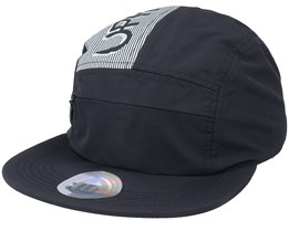 Hike Pro Black 5-Panel - Upfront