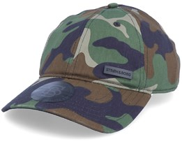 Dad Cap Camo Adjustable - Strøm & Borg