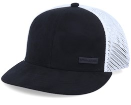 Berlin Suede Black/White Trucker - Strøm & Borg