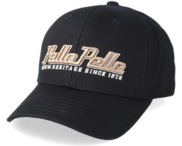 Heritage Curved Black Adjustable - Pelle Pelle