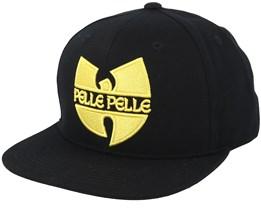 Protect Ya Neck Black Snapback - Pelle Pelle