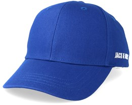 Basic Logo Baseball Cap Blue Adjustable - Jack & Jones