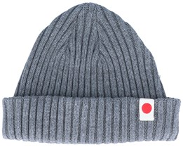 Knit Short Japan Beanie Grey Melange - Jack & Jones