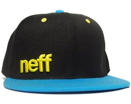 Daily Cap Black/Blue/Yellow - Neff