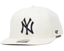 NY Yankees No Shot Natural Snapback - 47 Brand e02a3233153