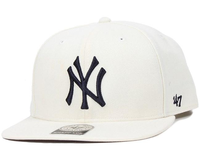 73152d8c93fc1 NY Yankees No Shot Natural Snapback - 47 Brand caps - Hatstoreworld.com