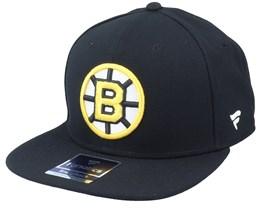 Boston Bruins Primary Logo Core Black Snapback - Fanatics