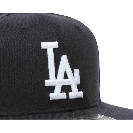 22f59b18a78 LA Dodgers Sure Shot Navy White Snapback - 47 Brand caps - Hatstoreworld.com