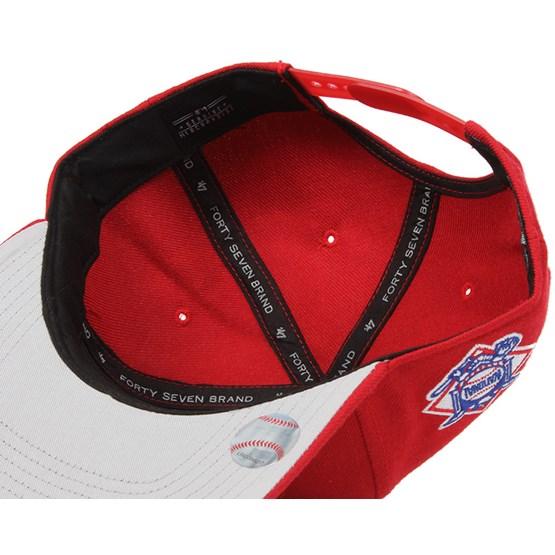 e23ddf18d4d Washington Nationals Sure Shot Red White Snapback - 47 Brand caps -  Hatstoreworld.com