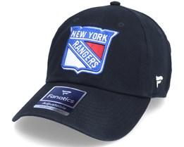 New York Rangers Primary Logo Core Black Dad Cap - Fanatics