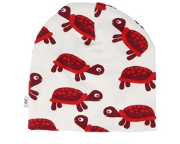 Kids Turtle White Beanie - JNY Kids