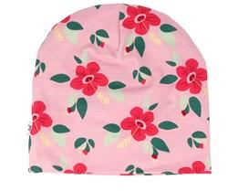 Kids Hibiscus Pink Beanie - JNY Kids