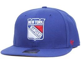 NY Rangers Sure Shot Royal Snapback - 47 Brand
