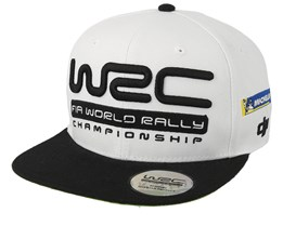 Official Championship Rally White/Black Snapback - WRC