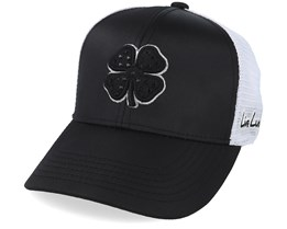 Bling Metallic Black/White Trucker - Black Clover