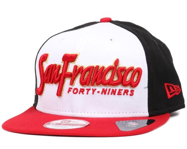 a5a95ddc081dc San Francisco 49ers Seasonal Script 9Fifty Snapback - New Era caps ...