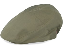 Graham Olive Flat Cap - Bailey