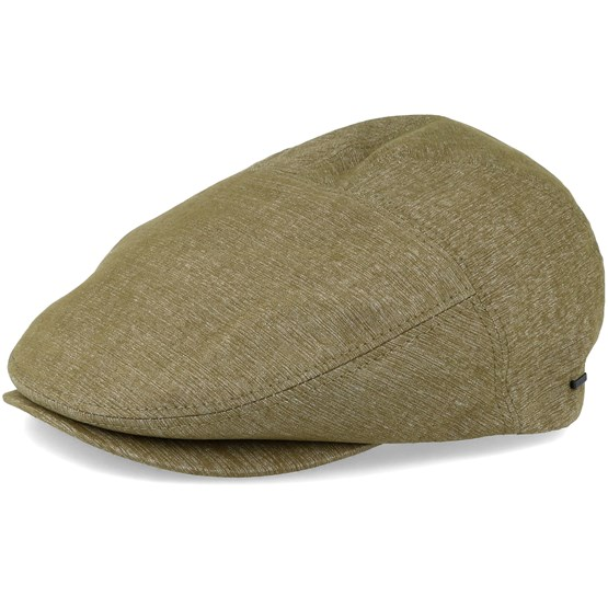 Keps Keter Loden Olive Flat Cap - Bailey - Grön Flat Caps