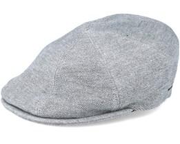 Sobel Heather Grey Flat Cap - Bailey