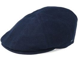 Sobel Navy Flat Cap - Bailey