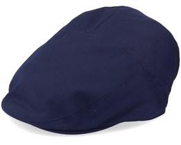 Graham Navy Flat Cap - Bailey