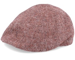 Rapol Brown Tweed Flat Cap - Bailey
