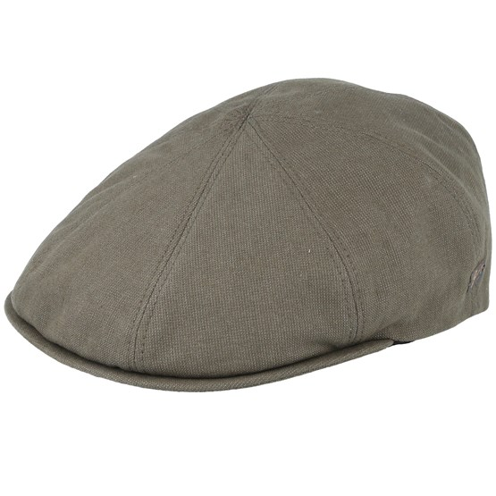 Keps Booth Olive Flat Cap - Bailey - Grön Flat Caps