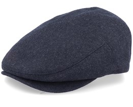 Farrow Black Flat Cap - Bailey