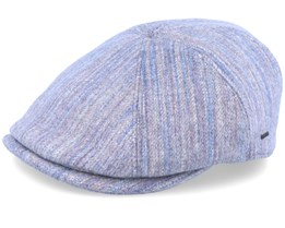 Penson Wool Grey Flat Cap - Bailey