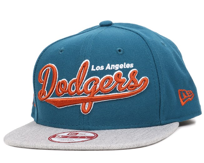 8e13bbda8cf LA Dodgers Vintage Script Blue 9Fifty Snapback - New Era caps ...