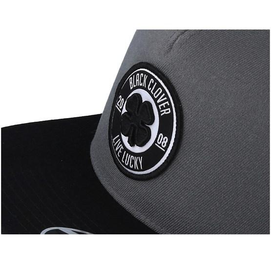 Anniversary Patch Flat Charcoal Black Snapback - Black Clover keps -  Hatstore.se e79a6a1ce7c8