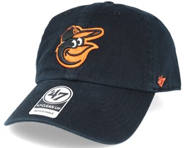 Baltimore Orioles 2 Tone Clean Up Black Adjustable- 47 Brand