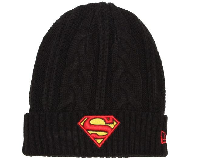 4120ba39909  ProductAttribut.beanie  från New Era Superman Hero Cuff - New Era