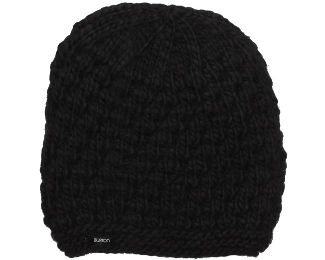 d66fc116e19 Woman Big Bertha True Black Beanie - Burton beanies - Hatstoreworld.com