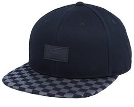 Allover It Black/Charcoal Snapback - Vans