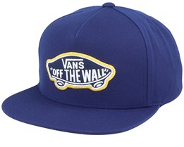 Classic Patch Navy Snapback - Vans