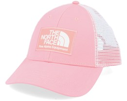 Mudder Mauve Pink/White Trucker - The North Face