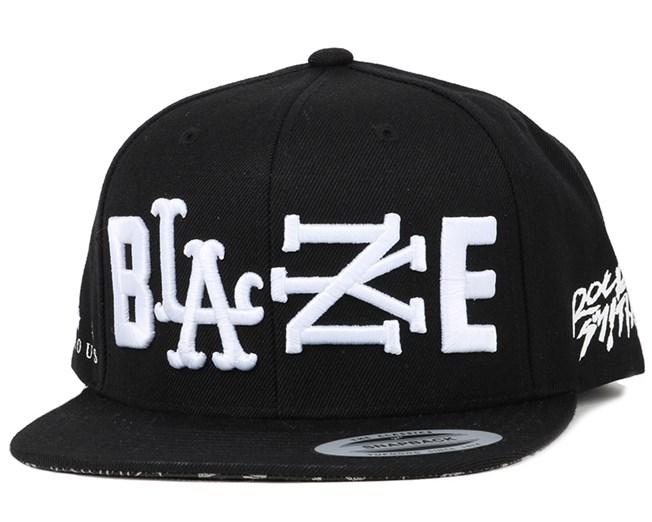 5c459c03f3f Rock Smith Blaze Black Snapback - Famous S S caps