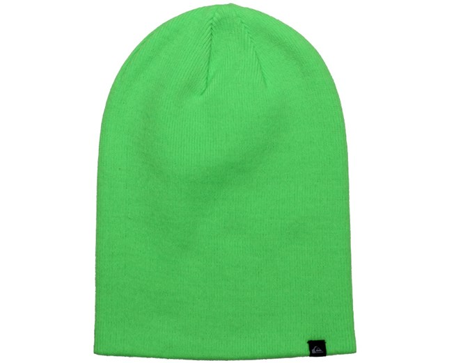 67d257a4313 Jewell Slouch Neon Green Beanie - Quiksilver beanies