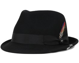 Richmond Woolfelt Black Fedora - Stetson
