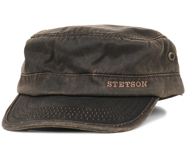 9c8e6e53add Datto Co Pes Lined Brown - Stetson caps - Hatstoreworld.com