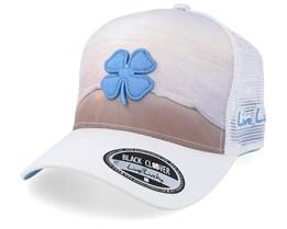 Shoreline 1 White Trucker - Black Clover